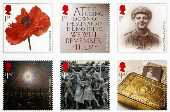 First World War_photographed by John Ross © Royal Mail Group Ltd 2014