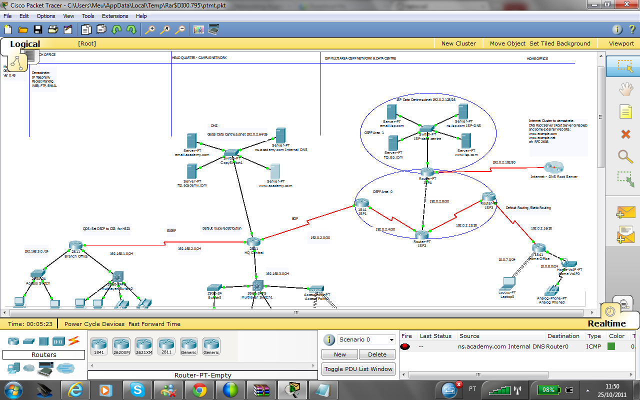 Cisco packet tracer manual