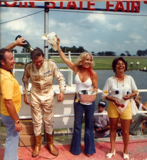 Midwest Racing Archives 1977 First Career Win Helped