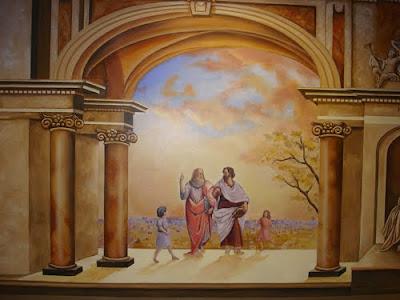 mural art painting - custom wall mural - ideas painting