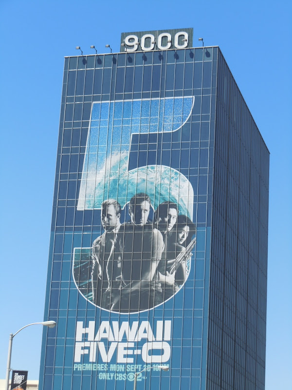 Hawaii 5-O billboard