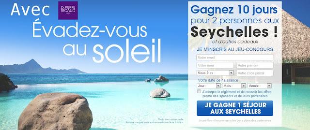 1 séjour aux Seychelles pour 10 jours
