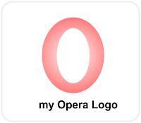 Opera Mini Logo Corel Draw