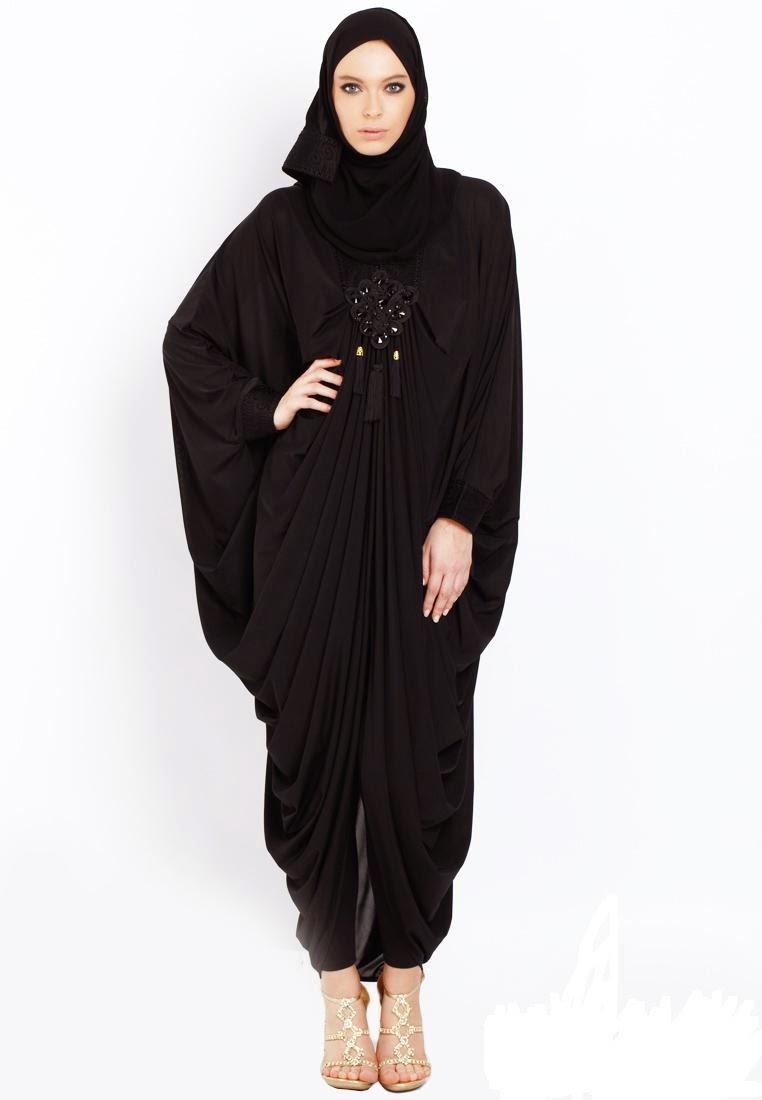 Koleksi Busana Muslim Kaftan Abaya Untuk Wanita Gemuk Kumpulan