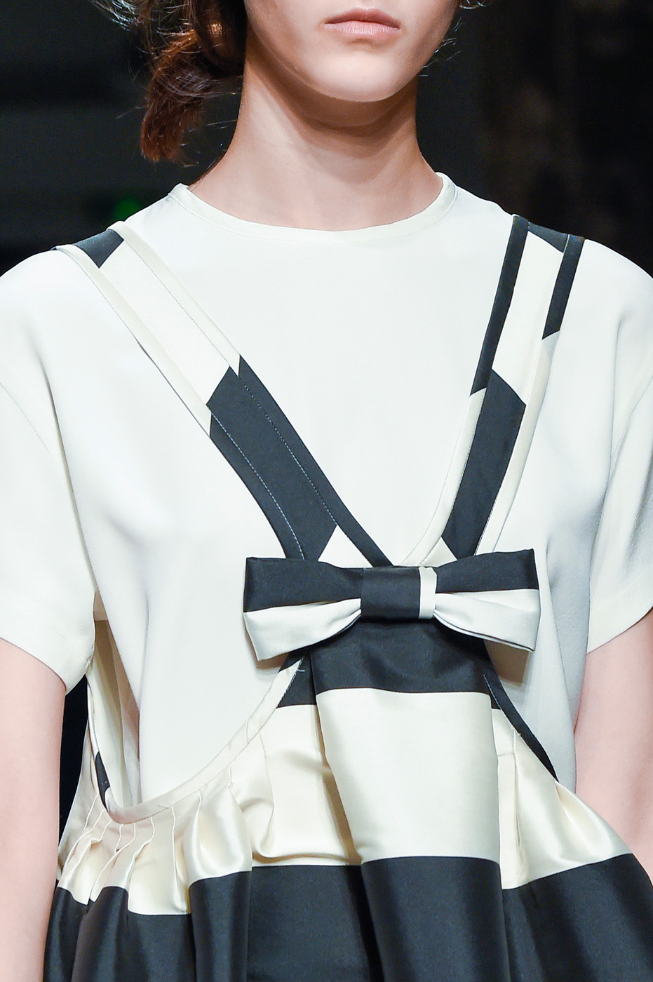 Spring/Summer 2016 trend report / Rochas SS16 / ribbons & bows via www.fashionedbylove.co.uk