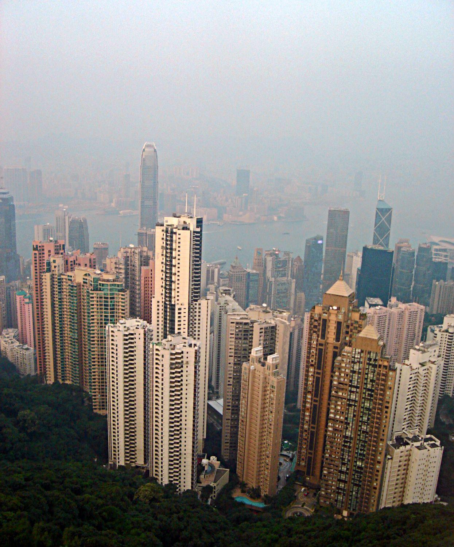 Hong Kong: Stock Pictures: Hong Kong Skyscrapers