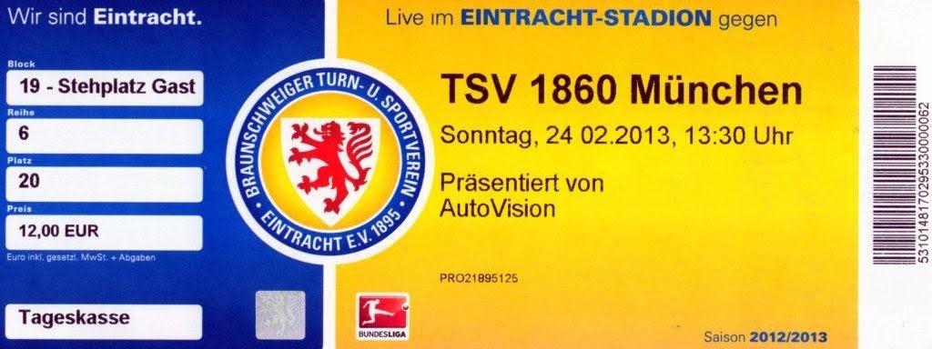 Eintracht Braunschweig - TSV 1860 (24.02.2013)
