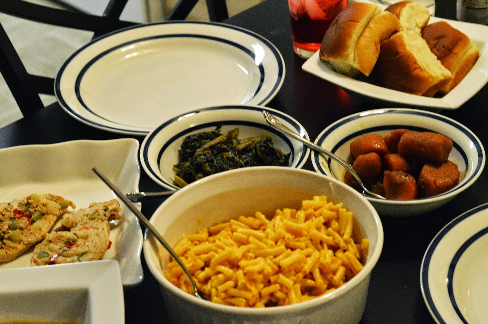 Rhianna's Studio Home cooked Thanksgiving Dinner Spread
