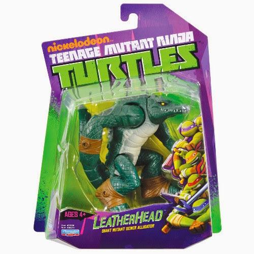 TOYS : JUGUETES - TORTUGAS NINJA  LeatherHead | Muñeco - Figura | Ninja Turtles  Producto Oficial | Giochi Preziosi | A partir de 4 años