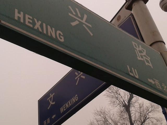 Wenxing Jie con Hexing Lu