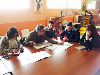Reunión de diagnóstico en el CEIP Puerto Rico