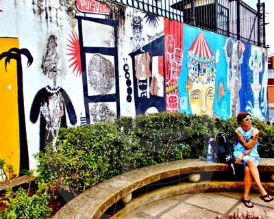 Arte callejero, grafitis.San José.