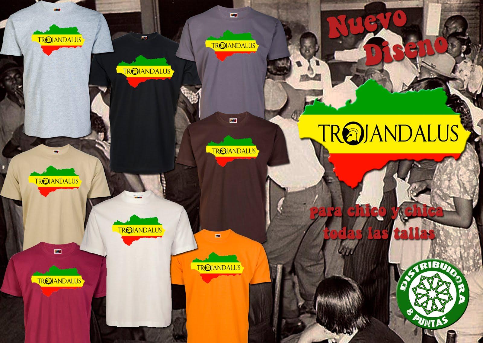 Camisetas Trojandalus