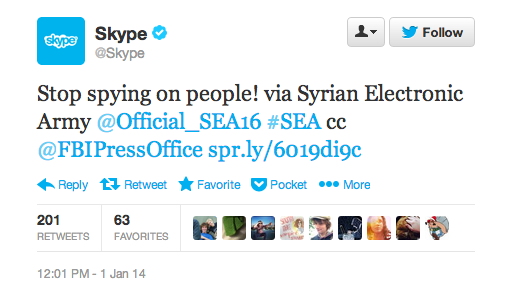 hacked by Syrian Electronic Army, news for Skype, hacking skype, Skype Social Media accounts hacked by Syrian Electronic Army, hackers breached skype,