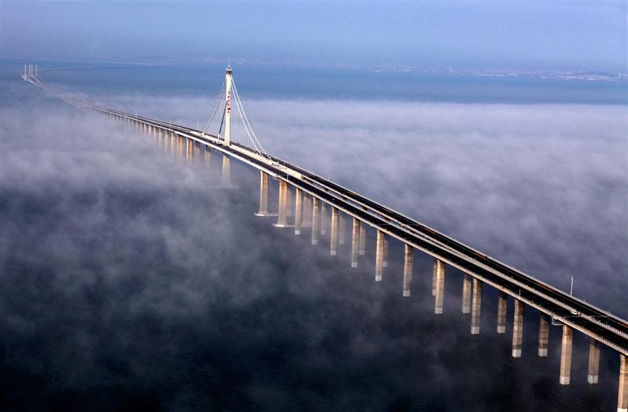China mula buka jambatan terpanjang di dunia