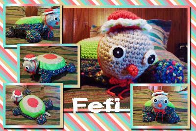 tortuga tejida - crochet - fefi - amigurumi