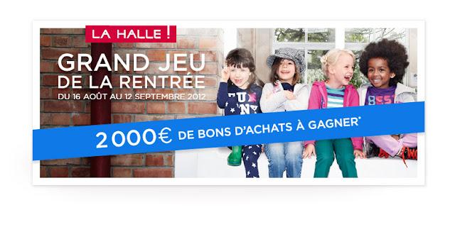La Hall: 20 lots de 100 euros en bons d'achat à gagner
