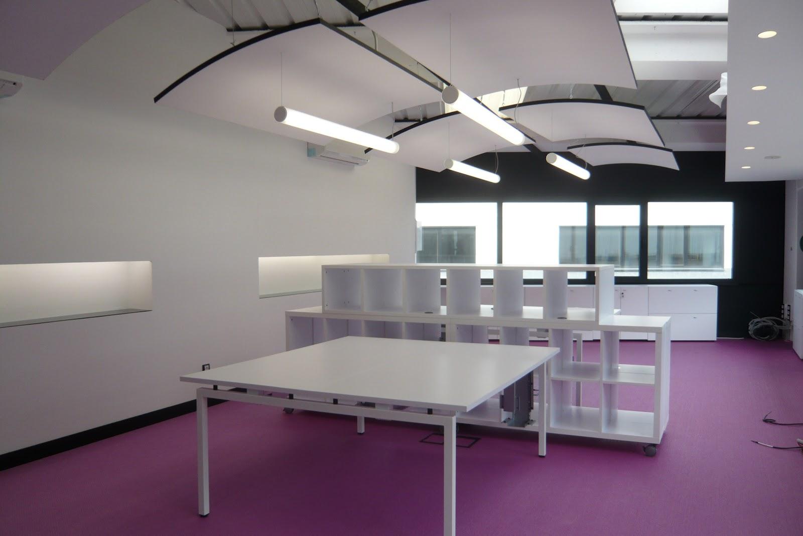 Nat dise o de espacios reforma de oficinas en nave - Diseno nave industrial ...
