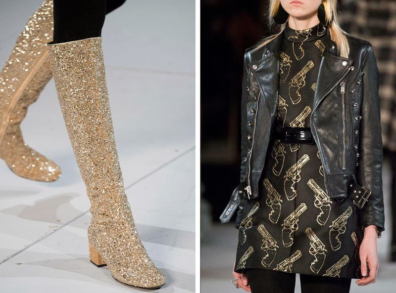 DETAILED PHOTOS of Saint Laurent Autumn/Winter 2014
