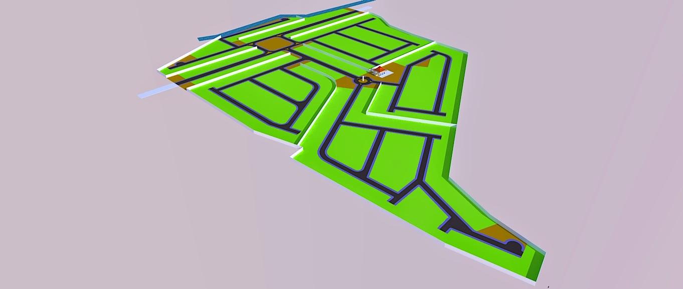 Site Plan Kavling