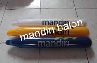 BALON SUPORTER Logo BANK MANDIRI