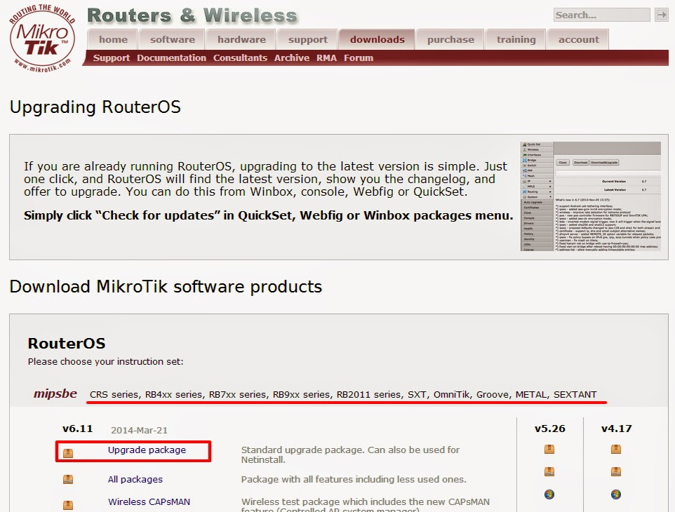Router OS