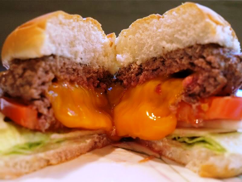 The Costco Quest: Tailgating with Costco: The Jucy Lucy Burger