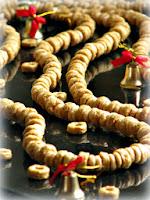 jadalny łańcuch na choinkę