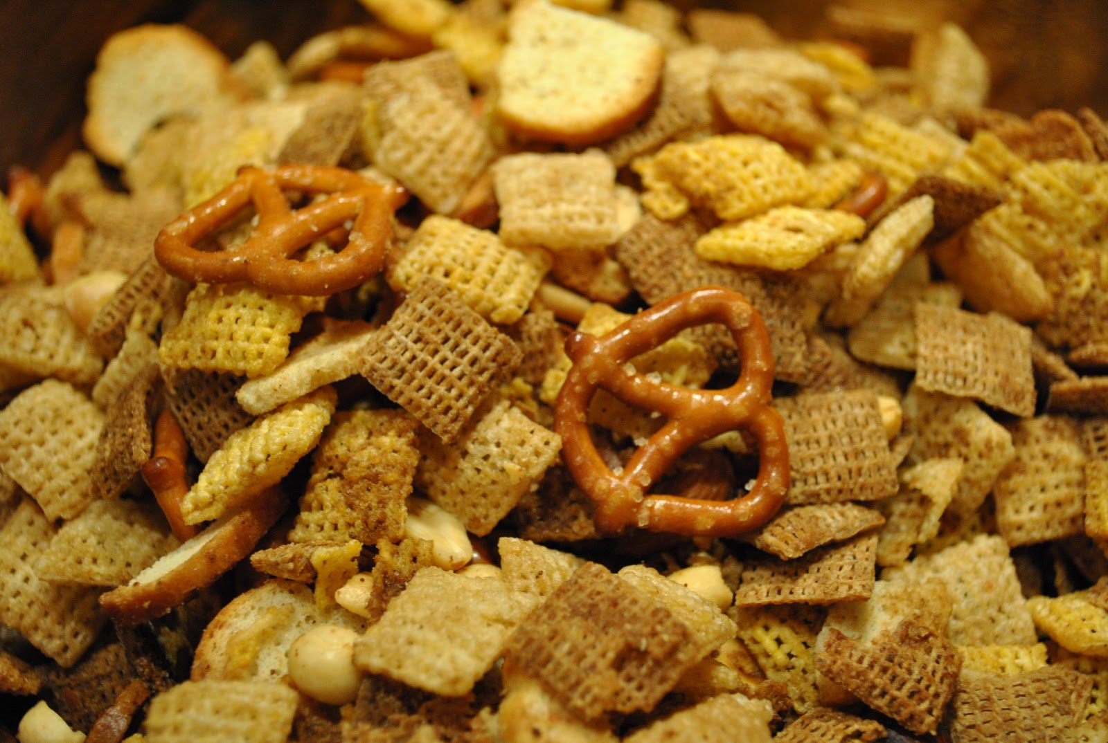 "Dairy Free ""Tried and True"": Original Chex Party Mix"
