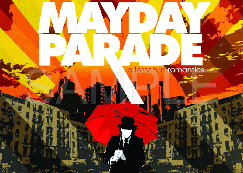 Gallery For > Mayday Parade 2011 Album Cover