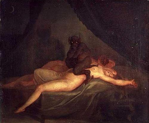 ARTIST IMPRESSIONS OF SLEEP PARALYSIS: