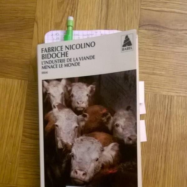 Bidoche - l'industrie de la viande menace le monde (fabrice Nicolino)