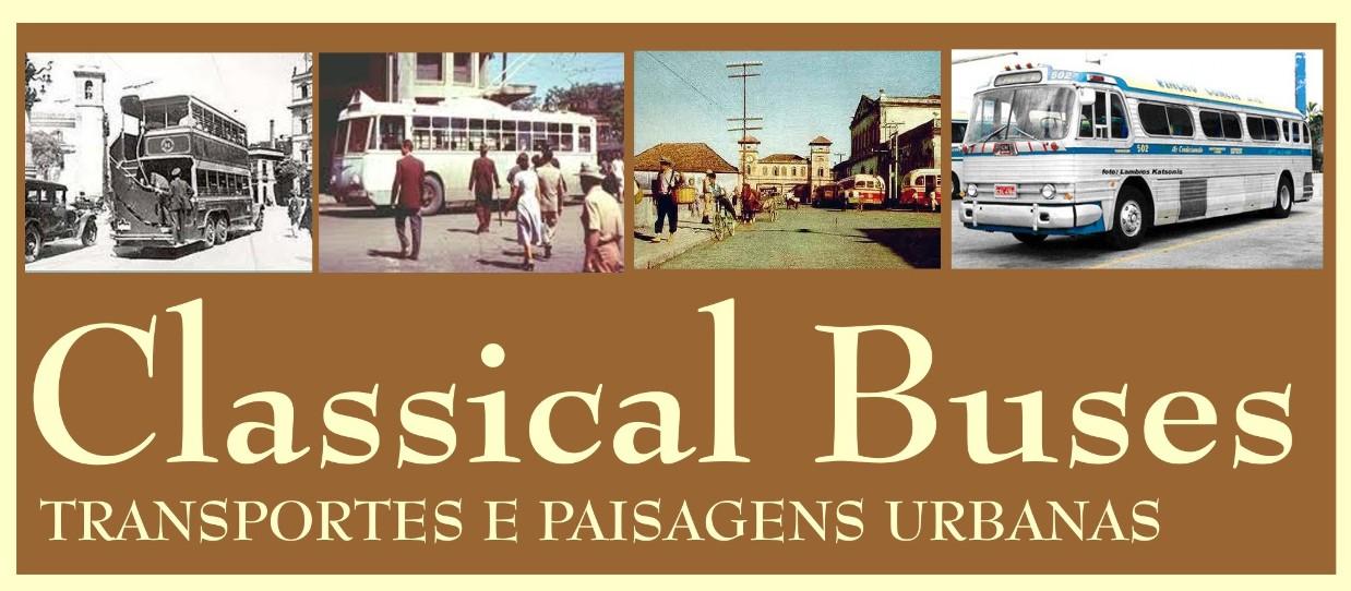 Classical Buses - Ônibus e Paisagens Urbanas