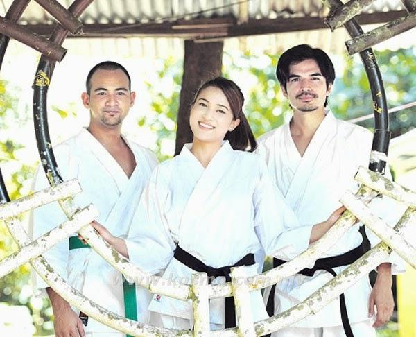 Seni karate warnai Ku Tinggalkan Cinta Di Okinawa