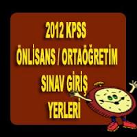 2012 KPSS Ortaöğretim Önlisans