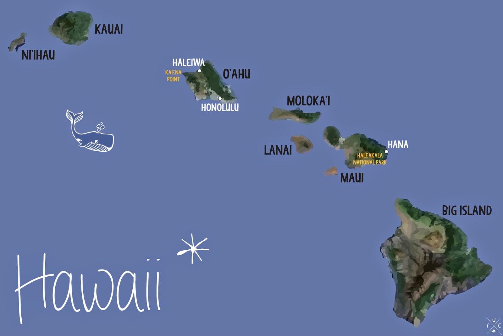 CARNET DE VOYAGE ⋆ À la découverte d'HAWAII