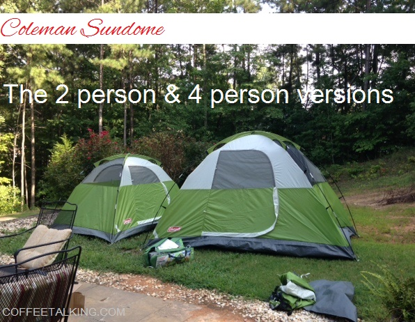 Because Iu0027m going to put the product details on this post from the product itself and from Amazon I am not going to fill this space with a lot of rambling ... & Itu0027s Just the Coffee Talking: Product Review: Coleman Sundome Tent ...
