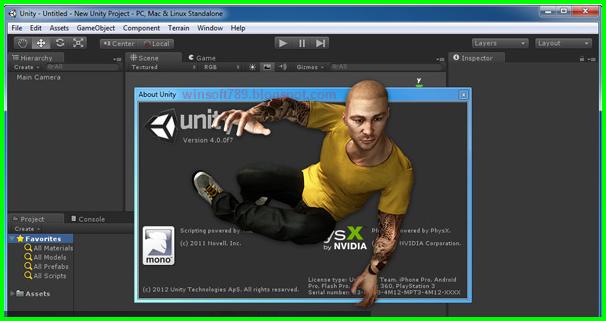 Unity 3D Pro 5.1 Patch