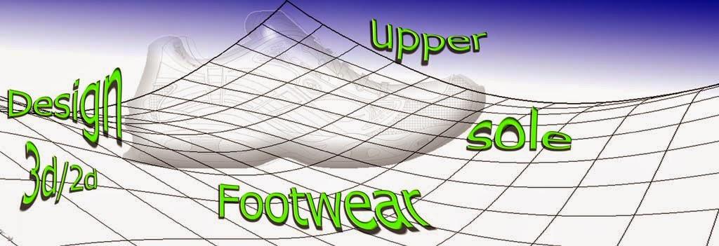 Concept footwear shoe sole design