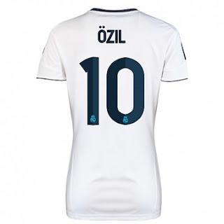 Nuevo Camiseta de Ozil 2012-13 Camiseta+de+Ozil+de+Mujer+del+Real+Madrid+20122013