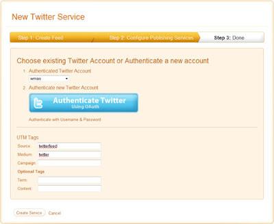дать доступ на публикацию в Twitter
