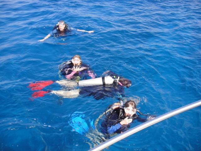 ハワイ島のダイビング