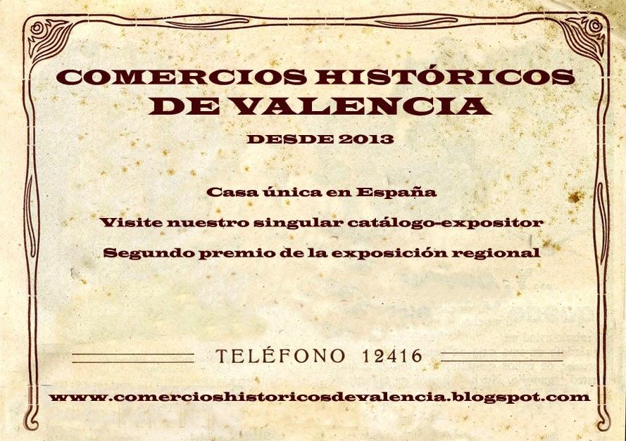 Comercios históricos de Valencia