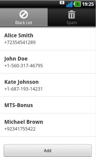 Call And SMS Blocking Apps For Android