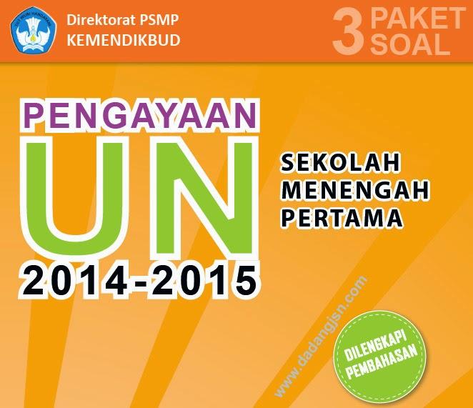Kisi-kisi Soal Ujian Nasional SMP 2015
