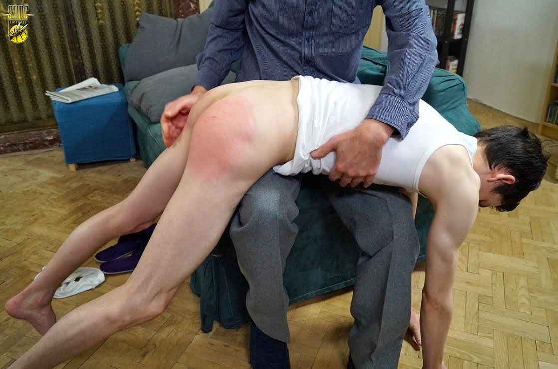 3 very hard swats of the slipper for nude girlfriend 3