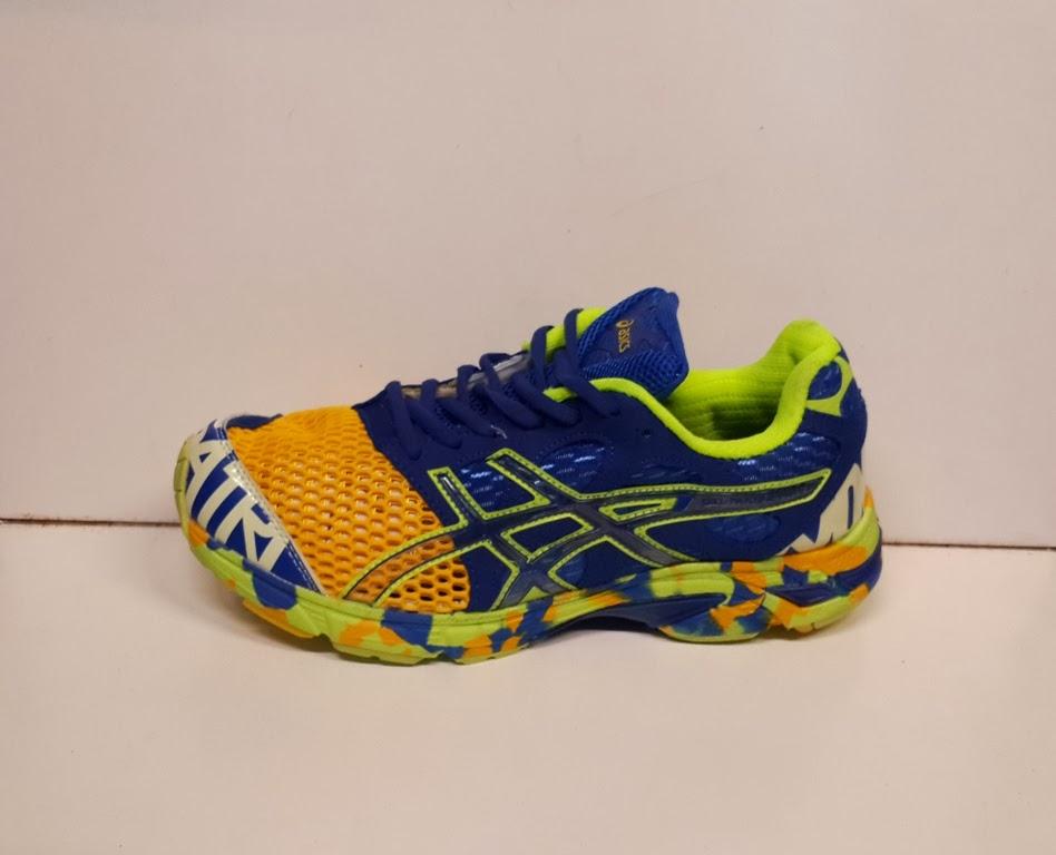 Sepatu Asics Noosa tri 7 Kuning Biru