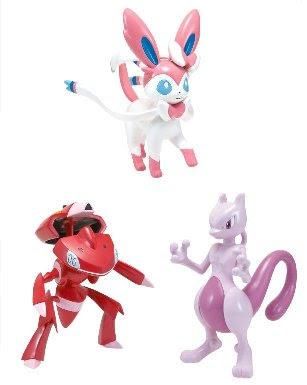 Pokemon Pose Figure BW 2013 Movie version TTA