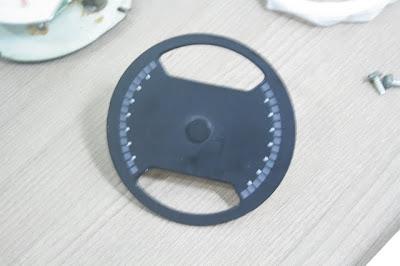 Marcador de Temperatura do Chevette Tubarão