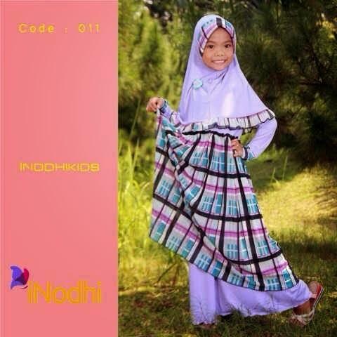Rumah Hijab Savana Gamis Syari Anak Inodhi Kids